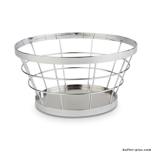 Metal stand / basket Ø 21 / 15 cm - Baskets collection