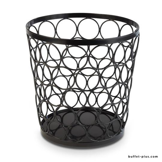 Black metal Tennis Stand / Basket