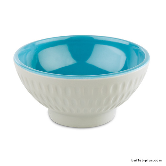 Melamine two tones bowl / salad bowls grey and blue colour Asia + collection