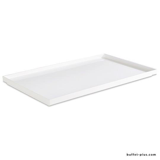 Bento tray Asia + white melamine GN dimensions