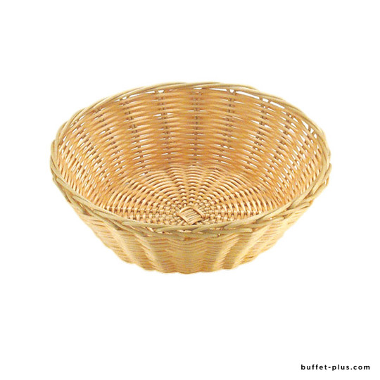 Round bread of fruit basket Basic collection