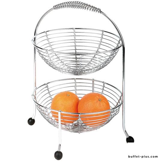 Double fruit baskets