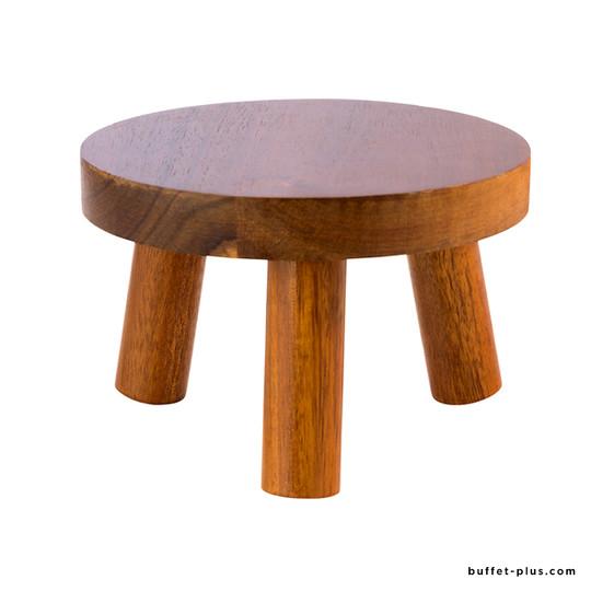 Buffet stand stool shape