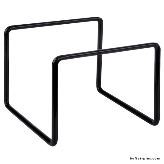 Black metal stand multi-position