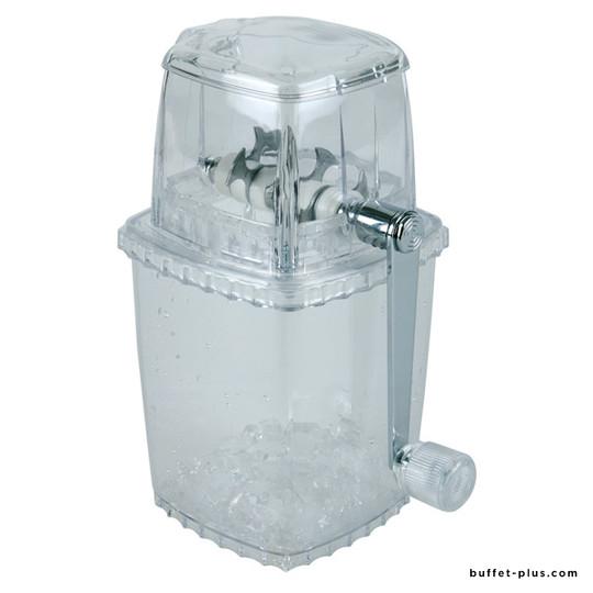 Clear ice crusher
