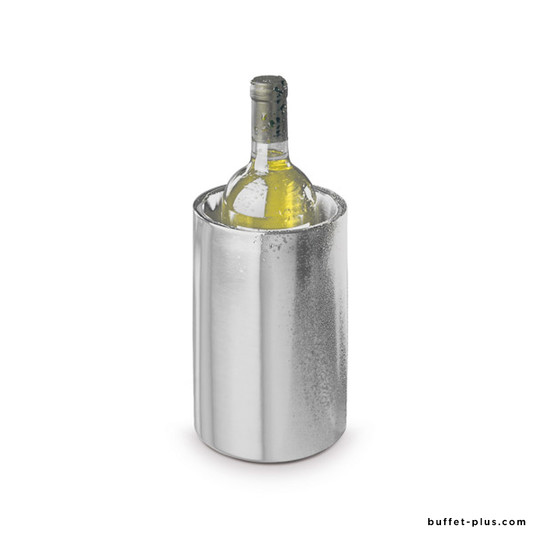 Stainless steel double wall bottle Cooler Satin polish collection