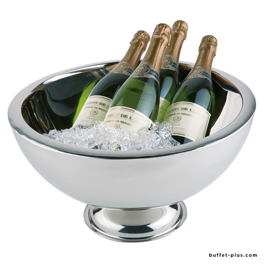 Stainless steel double wall Champagne bowl