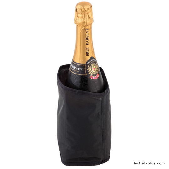 Cool collar for Champagne bottle