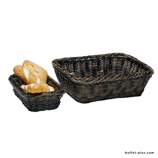 Basket GN Line collection GN 1/4 mocha colour