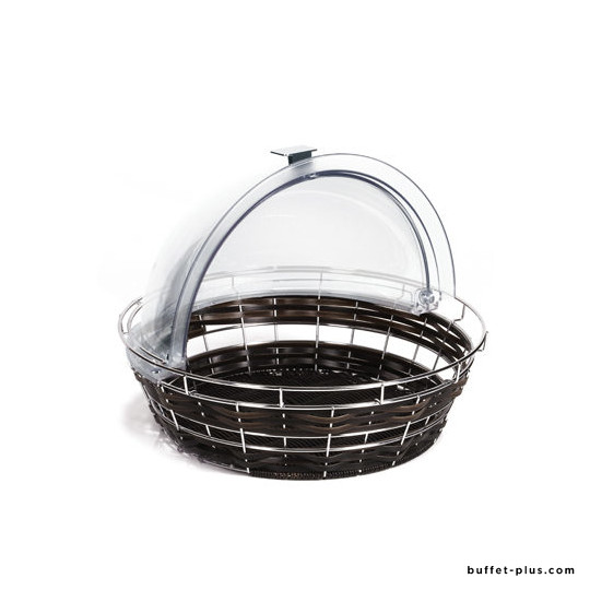 Poly-Rattan basket Economic Ø 40 cm
