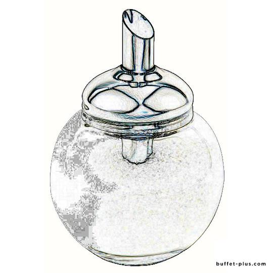 Spare glass for sugar dispenser