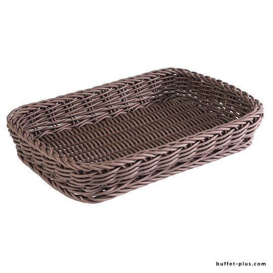 Display basket, pastry norms, brown Profi Line