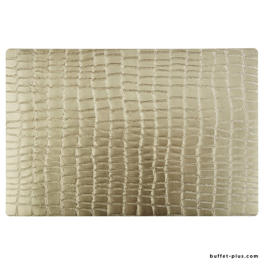 Set of 6 tablemats Croco