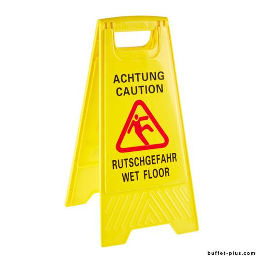 """Stand """"Wet Floor"""""""