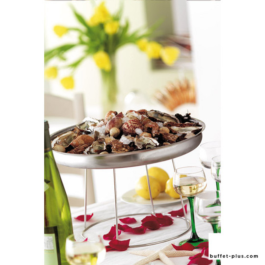 Stand for seafood tray