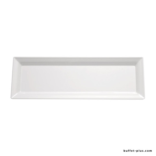 Black or white melamine rectangular tray Pure collection