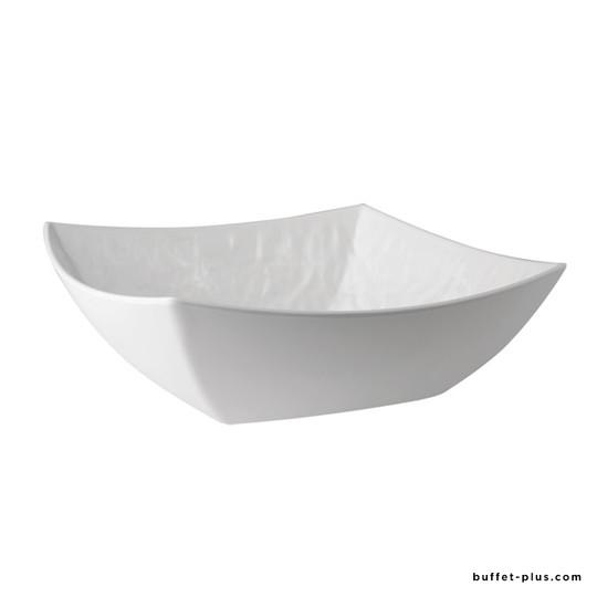 Melamine deep square dish / square salad bowl Tao collection