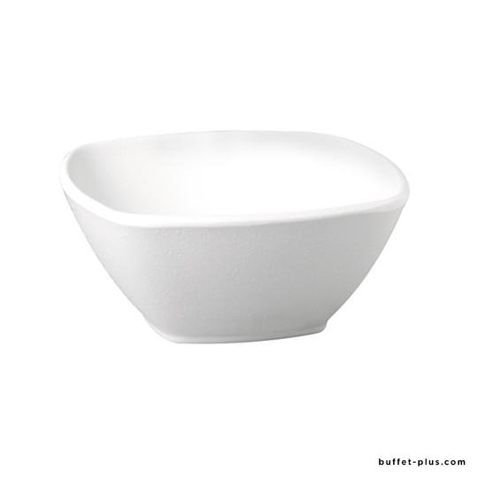 Square melamine salad bowl Zen collection