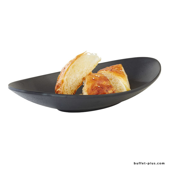 Melamine oval deep plate Zen collection