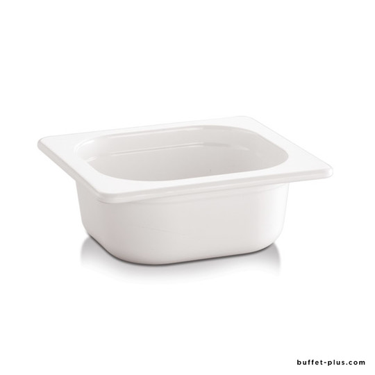 White or black melamine container GN 1/6 EcoLine collection