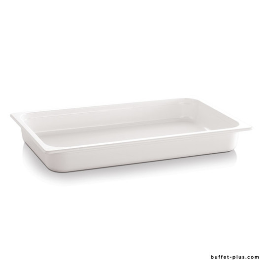 White or black melamine container GN 1/2 EcoLine collection