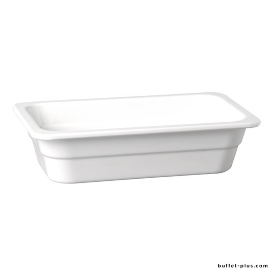 White melamine container GN 1/3 H HighLine collection