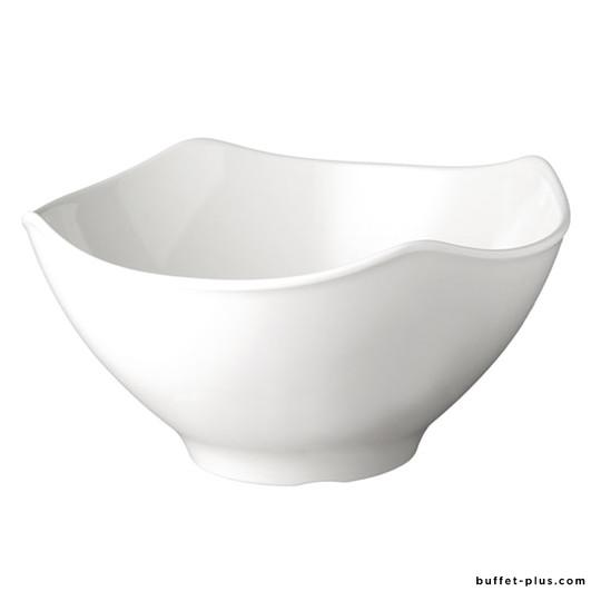 Melamine salad bowl irregular edges Global Buffet collection