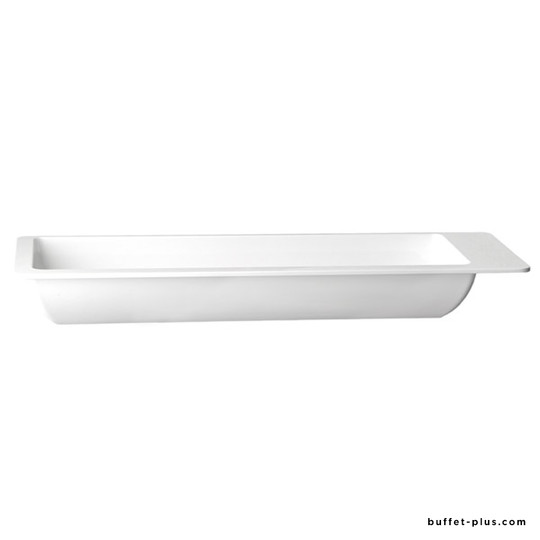 White melamine tray GN 2/4 Appart collection