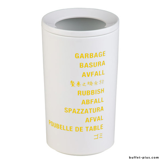 Table garbage bin, International collection