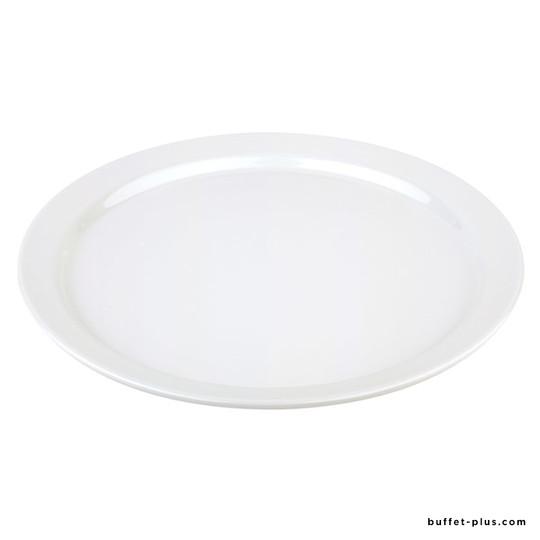 White melamine plate / tray Pure
