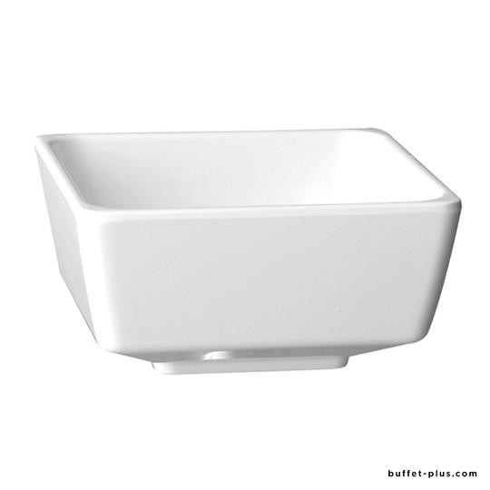 Black or white melamine square bowl Float collection