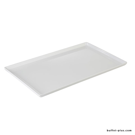 Black or white melamine tray GN sizes Float collection
