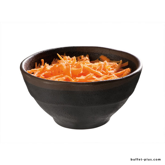Melamine bowl Marone collection