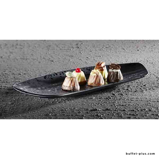 Melamine plate / tray  slender shape Glamour collection