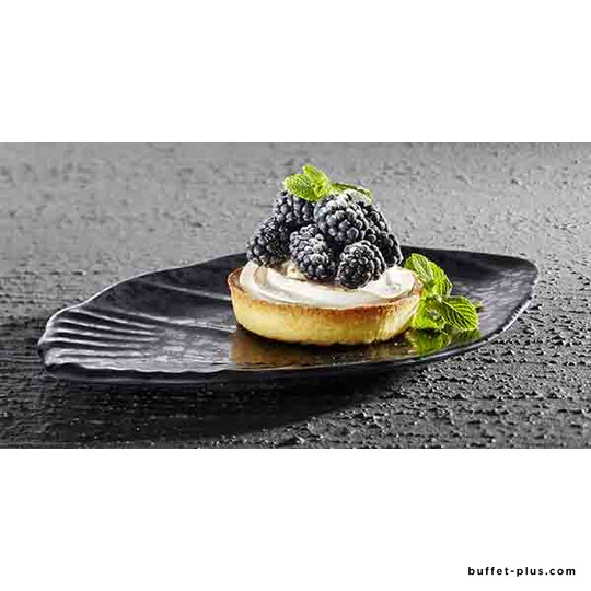 Melamine plate / tray shell shape Glamour collection