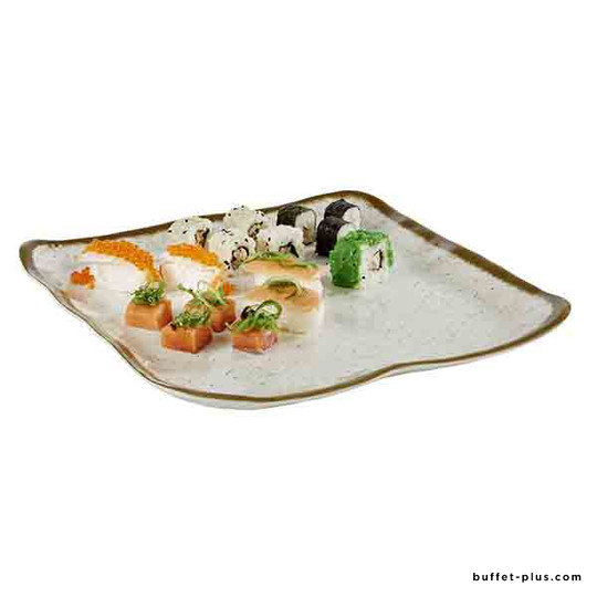 Melamine plate Stone Art collection