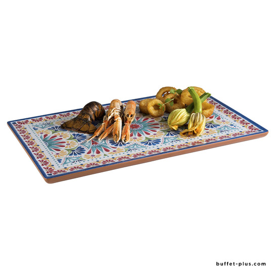 Arabesque melamine GN trays