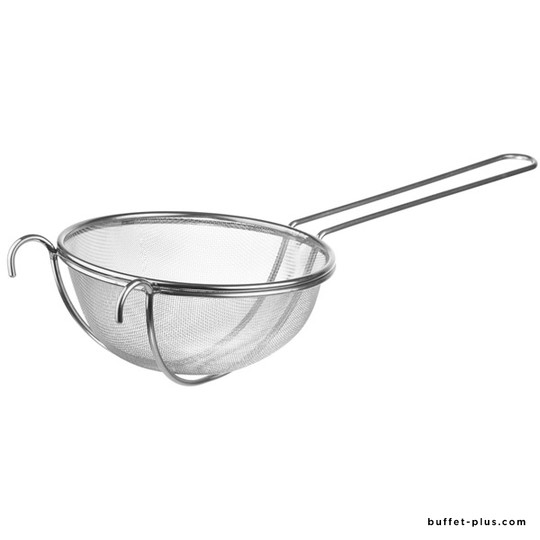 Fine mesh strainer with long handle