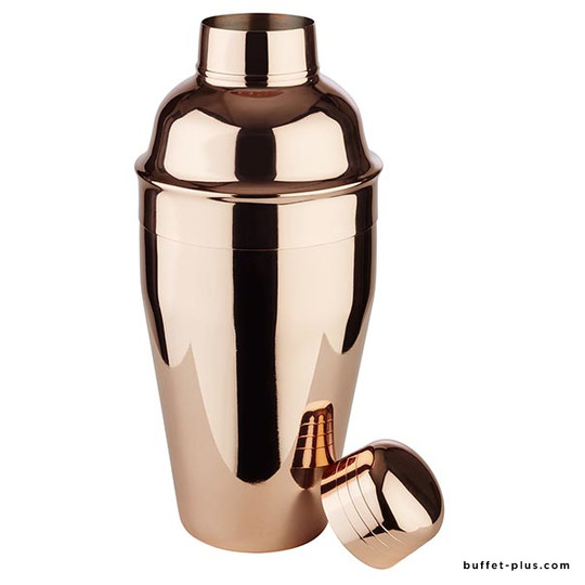Stainless steel shaker, copper look Classic collection