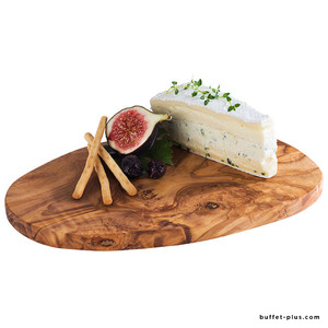 Oiled olive serving board